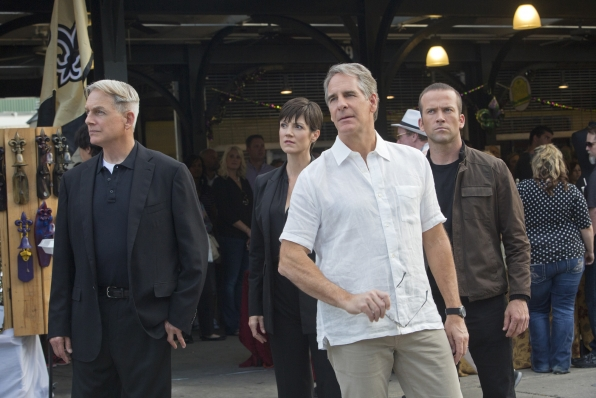 NCIS: Scott Bakula, Mark Harmon, Lucas Black Zoe McLellan,  nel doppio episodio Crescent City