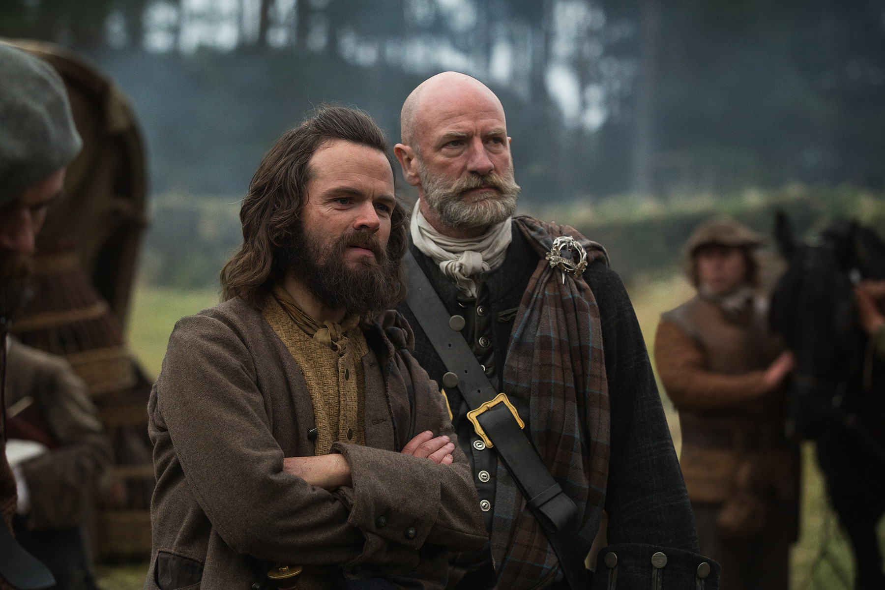 Outlander: Graham McTavish nell'episodio Rent