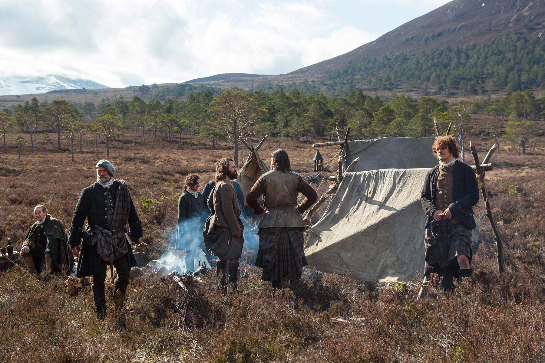Outlander: una scena dell'episodio Rent