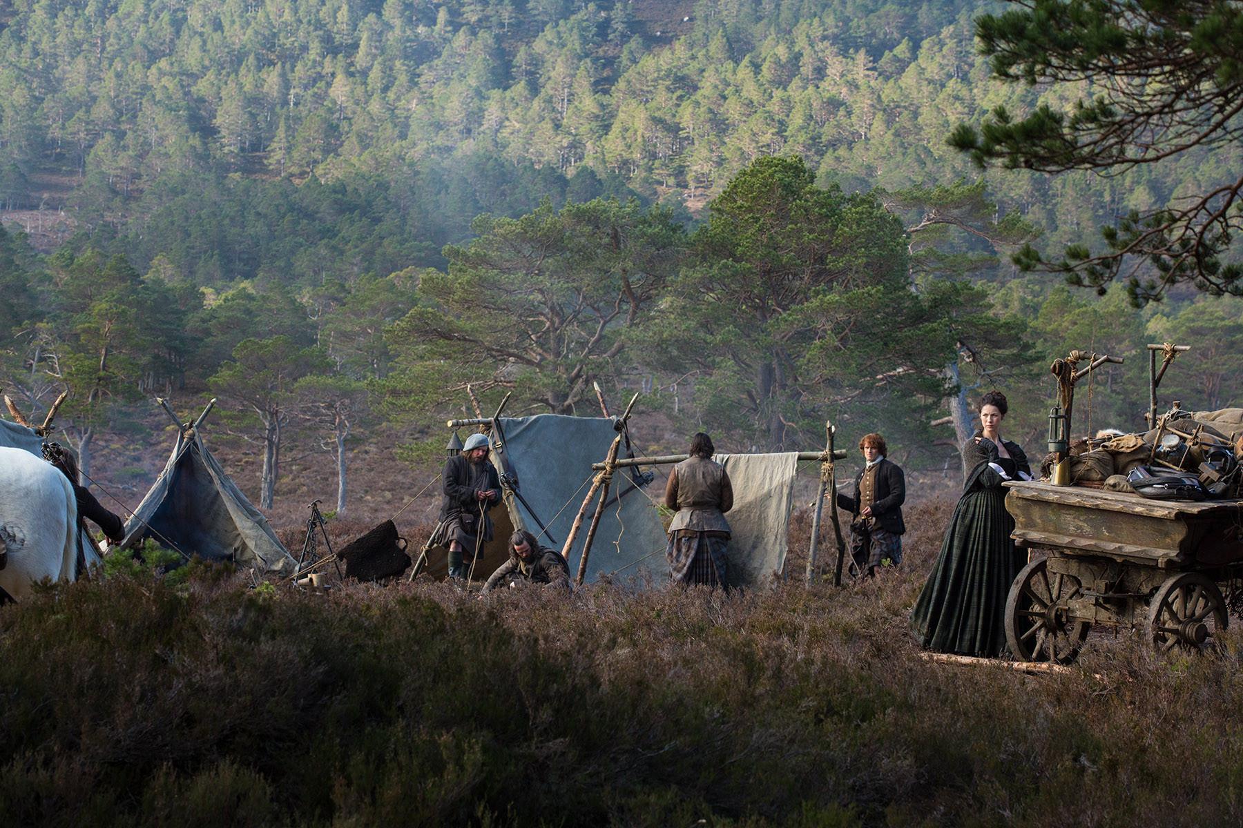 Outlander: una sequenza dell'episodio Rent