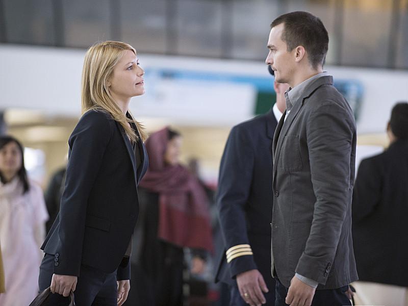 Homeland: Claire Danes e Rupert Friend nell'episodio The Drone Queen