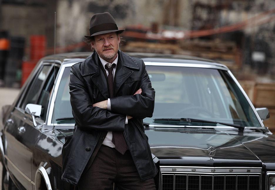 Gotham: un'immagine di Donal Logue nella premiere della serie