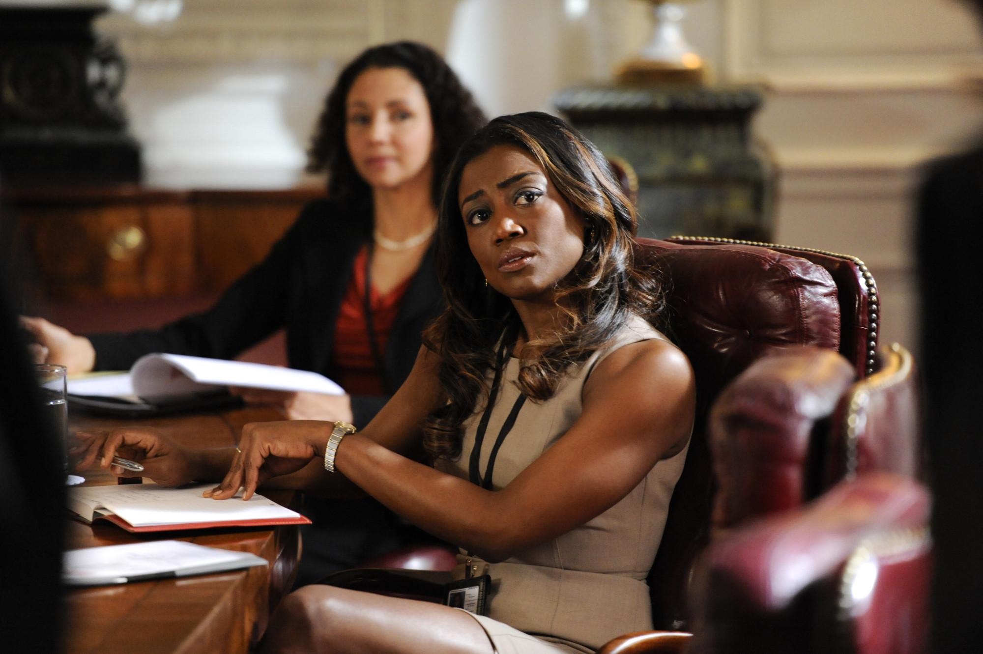 Madam Secretary: Patina Miller in una scena della premiere della serie