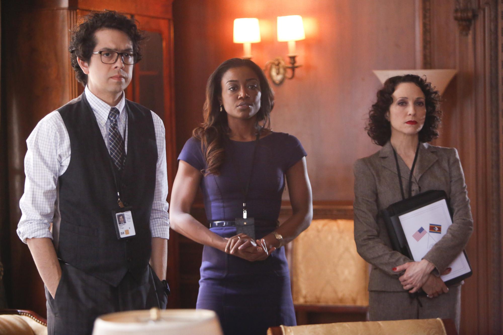 Madam Secretary: una scena della premiere della serie