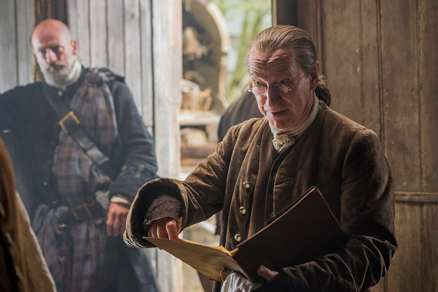 Outlander: Bill Paterson nell'episodio The Wedding