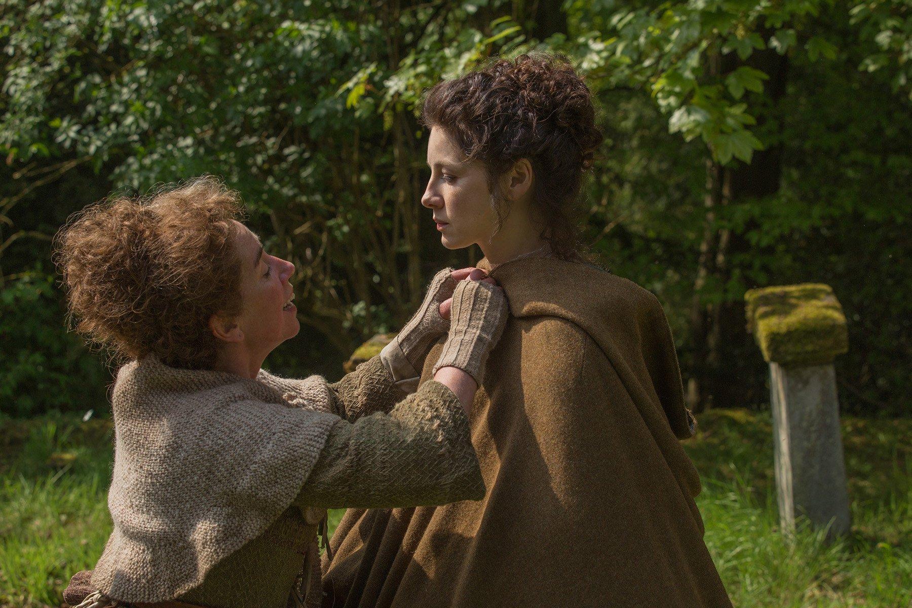 Outlander: un'immagine di Caitriona Balfe nell'episodio The Wedding