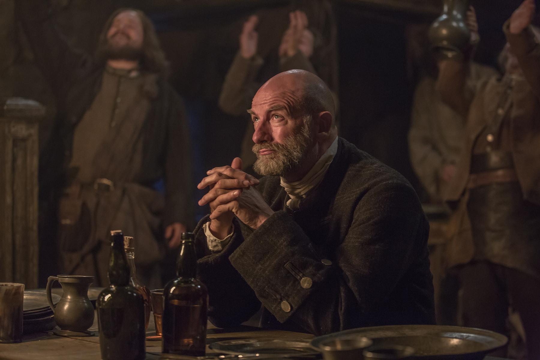 Outlander: Graham McTavish nell'episodio The Wedding