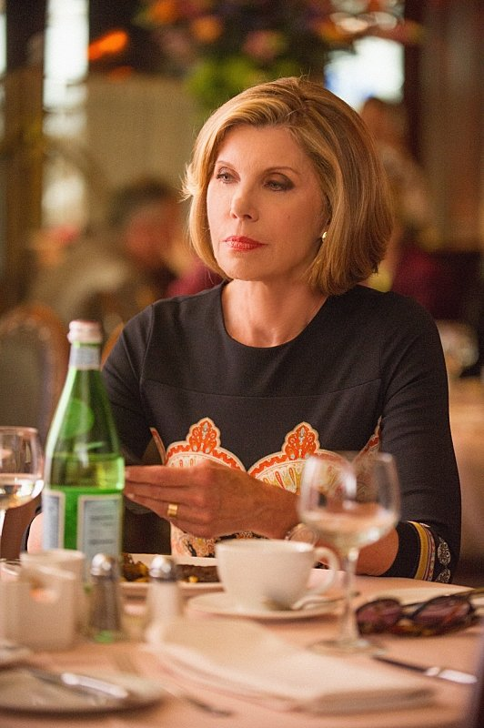 The Good Wife: Christine Baranski nell'episodio The Line