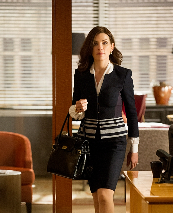 The Good Wife: Julianna Margulies nell'episodio The Line