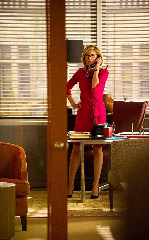 The Good Wife: un'immagine di Christine Baranski nell'episodio The Line