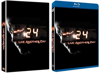 le cover homevideo di 24: Live another Day