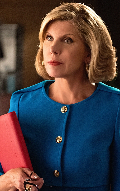 The Good Wife: Christine Baranski nell'episodio Trust Issues