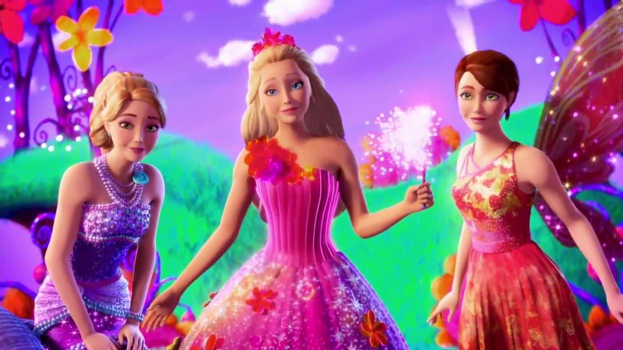 Barbie e il Regno Segreto: una scena del film animato
