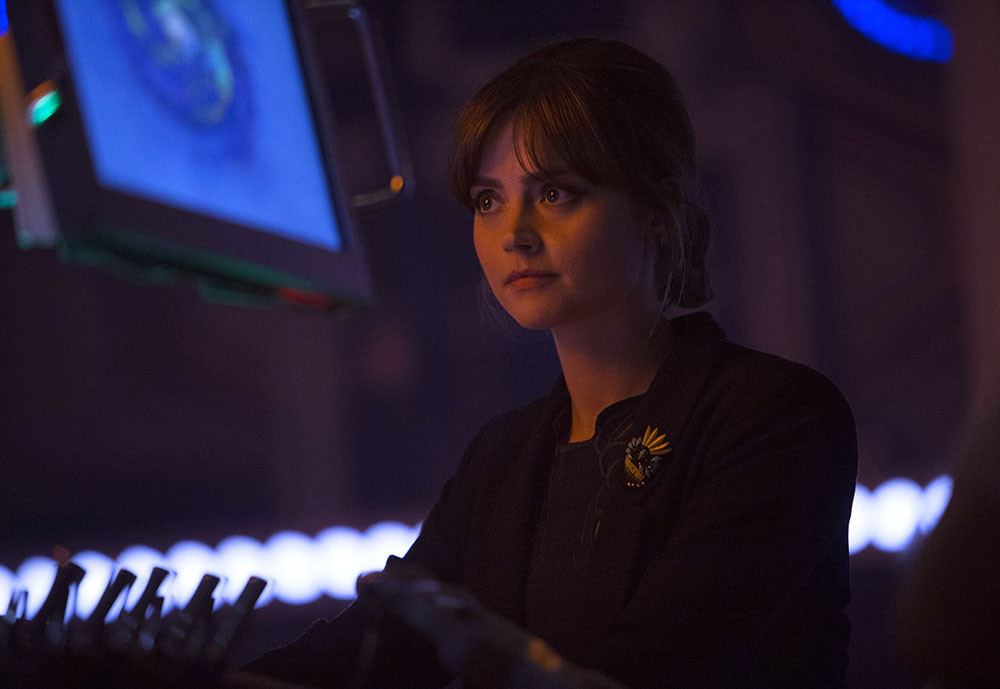 Doctor Who: Jenna-Louise Coleman nell'episodio Listen