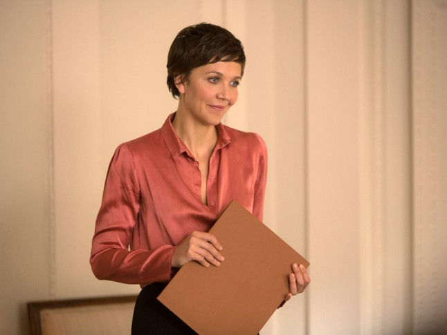 The Honourable Woman: un'immagine di  Maggie Gyllenhaal in una scena