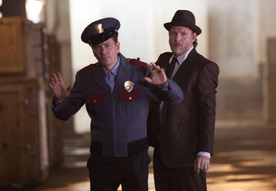 Gotham: Donal Logue in un momento dell'episodio Selina Kyle