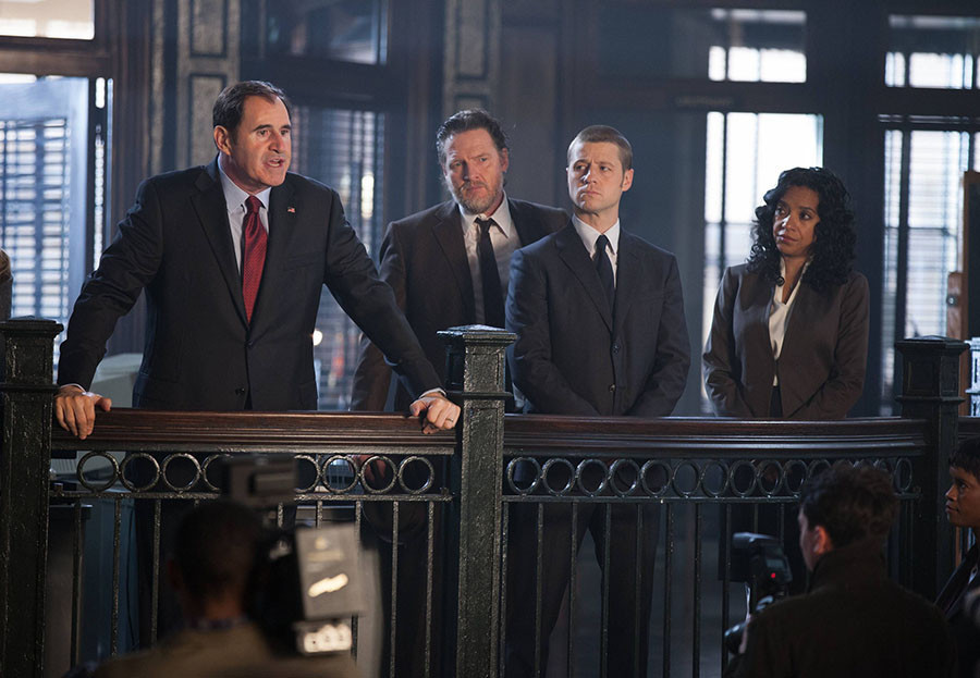 Gotham: una scena dell'episodio Selina Kyle