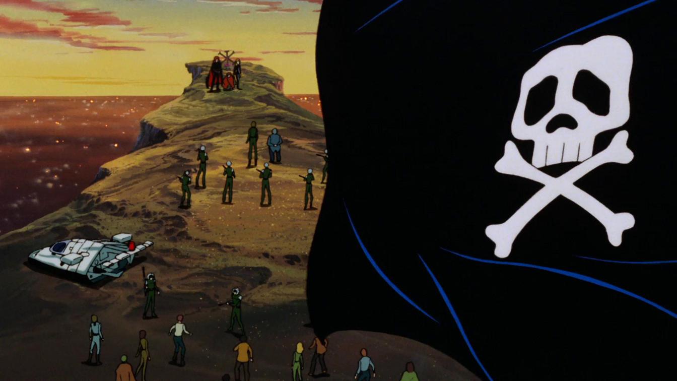 Un'immagine di Capitan Harlock - L'Arcadia della mia giovinezza