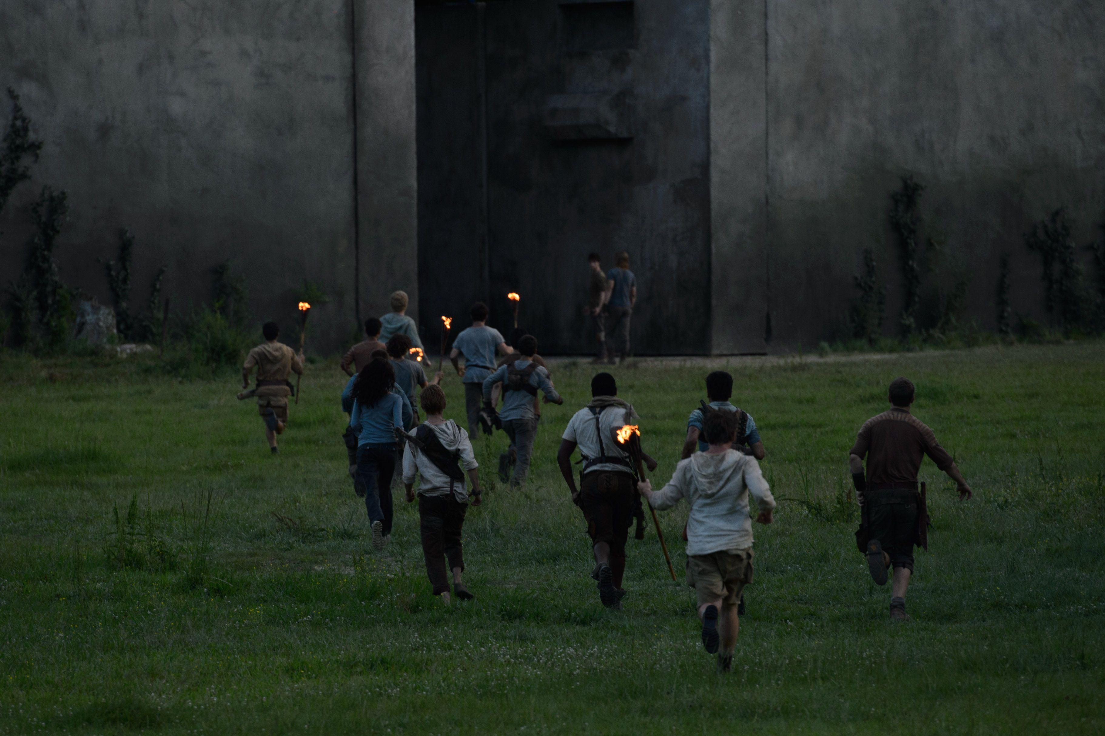 Maze Runner - Il labirinto: una delle prime foto ufficiali del film post apocalittico