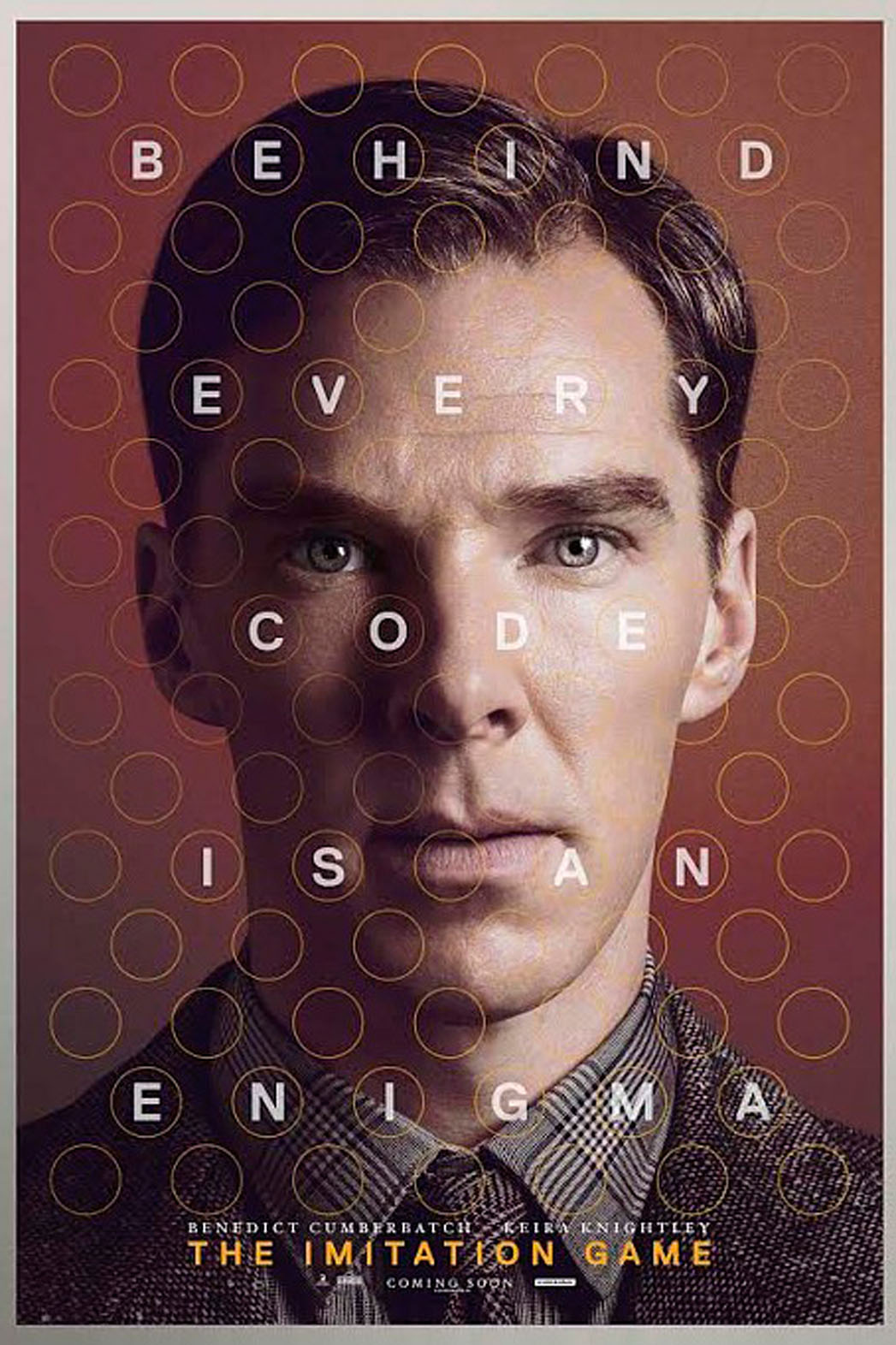 The Imitation Game: character poster internazionale per Benedict Cumberbatch