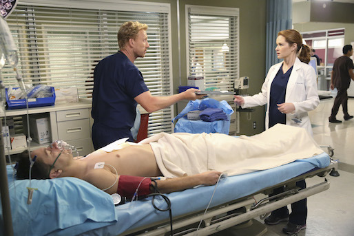 Grey's Anatomy: Sarah Drew e Kevin McKidd nell'episodio I Must Have Lost It on the Wind'