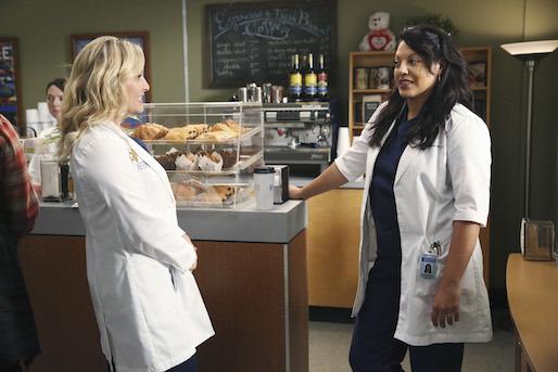 Grey's Anatomy: Sara Ramirez e Jessica Capshaw nell'episodio I Must Have Lost It on the Wind'