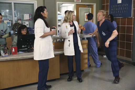 Grey's Anatomy: Sara Ramirez, Jessica Capshaw e Kevin McKidd nell'episodio I Must Have Lost It on the Wind'