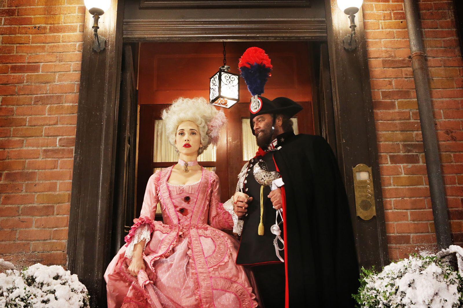 Soap Opera: Chiara Francini con Diego Abatantuono in una scena del film