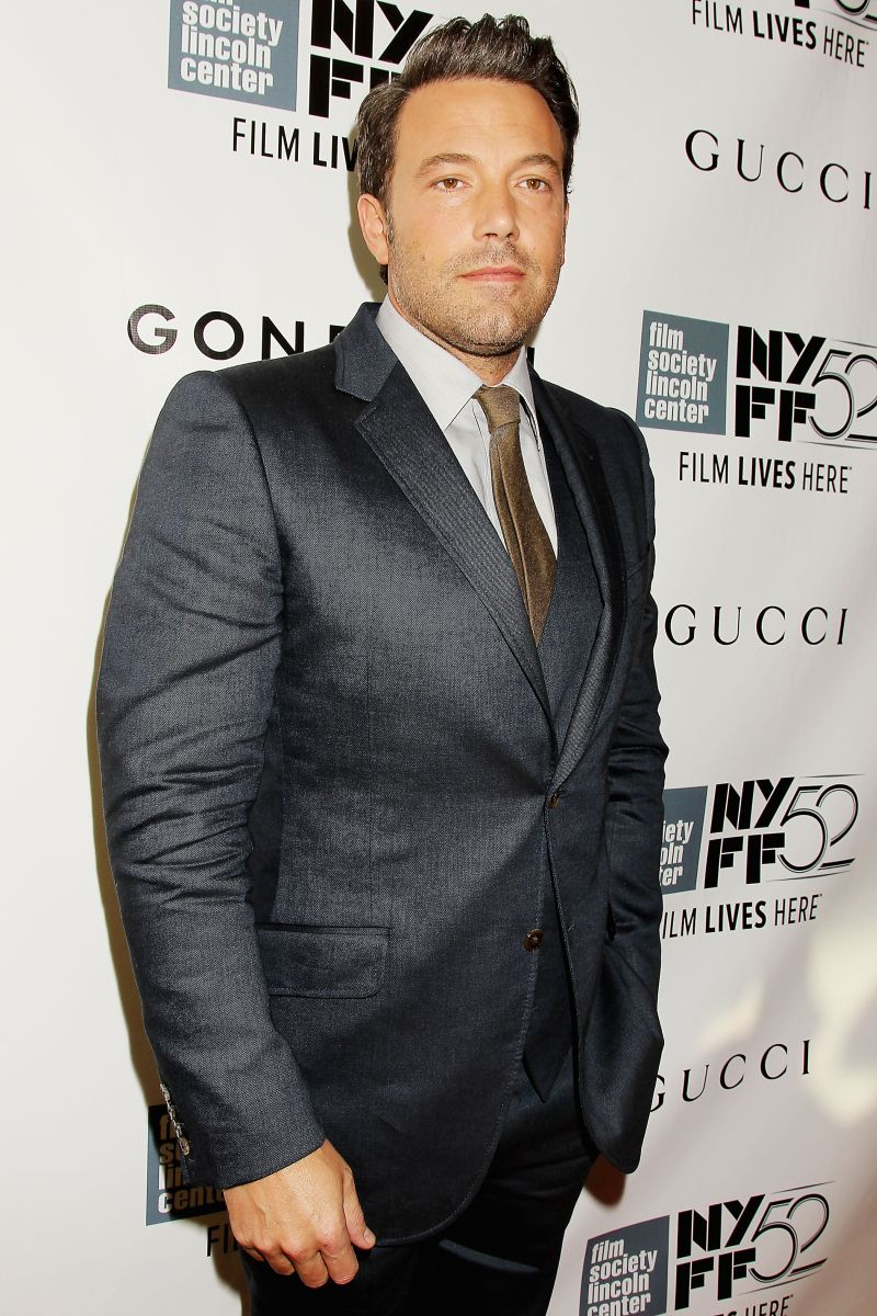 L'amore bugiardo - Gone Girl: Ben Affleck posa sul red carpet del 52° NYFF