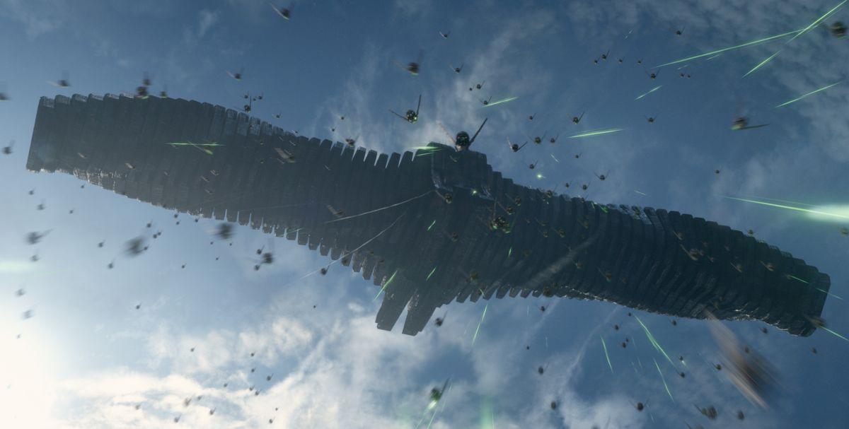 Guardiani della galassia: una spettacolare immagine aerea