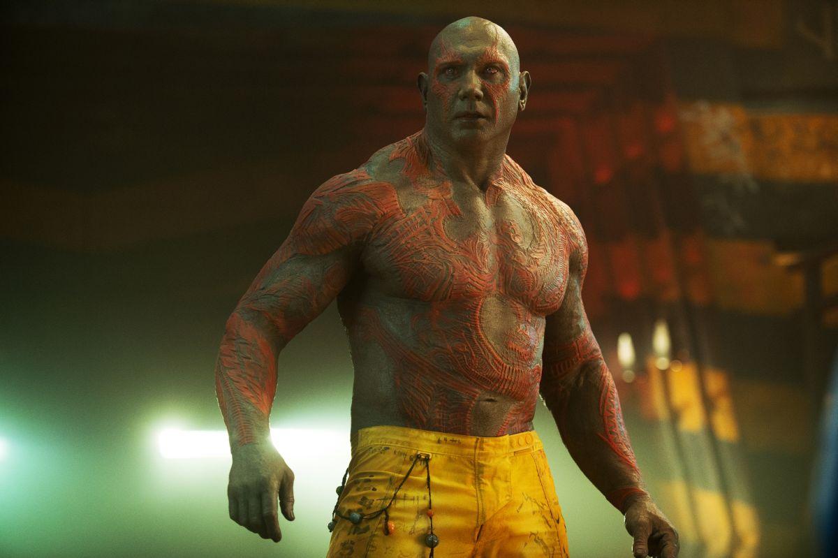 Guardiani della galassia: Dave Bautista è il possente Drax the Destroyer