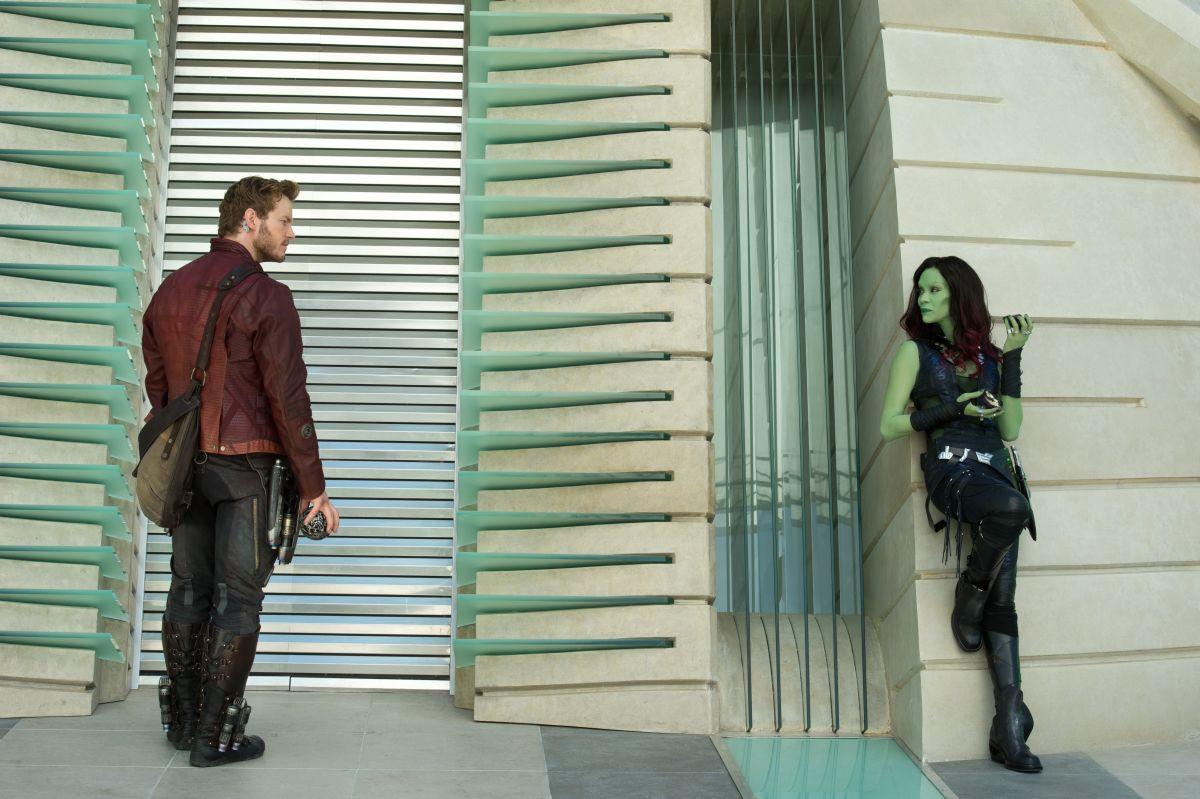 Guardiani della galassia: Chris Pratt e Zoe Saldana discutono