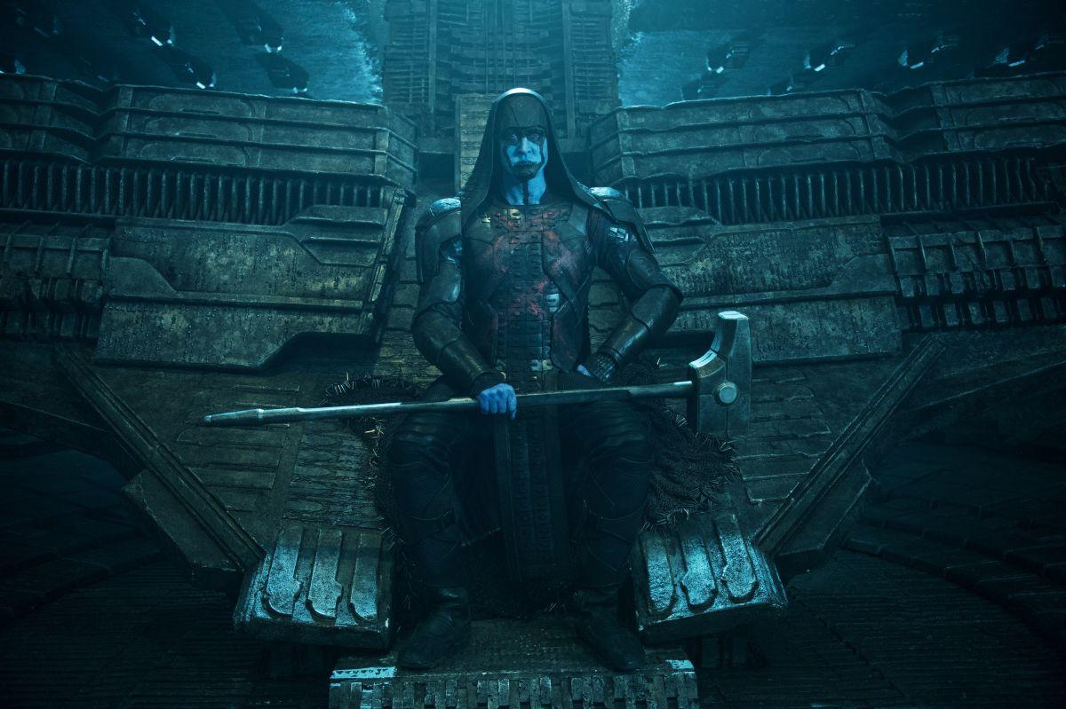 Guardiani della Galassia: Lee Pace in una scena è Ronan l'Accusatore