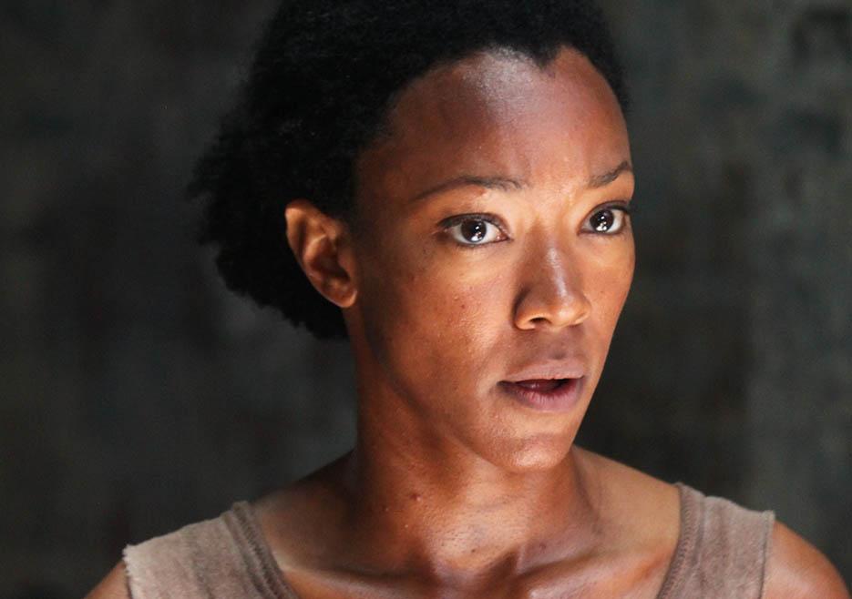 The Walking Dead: Sonequa Martin nell'episodio No Sanctuary