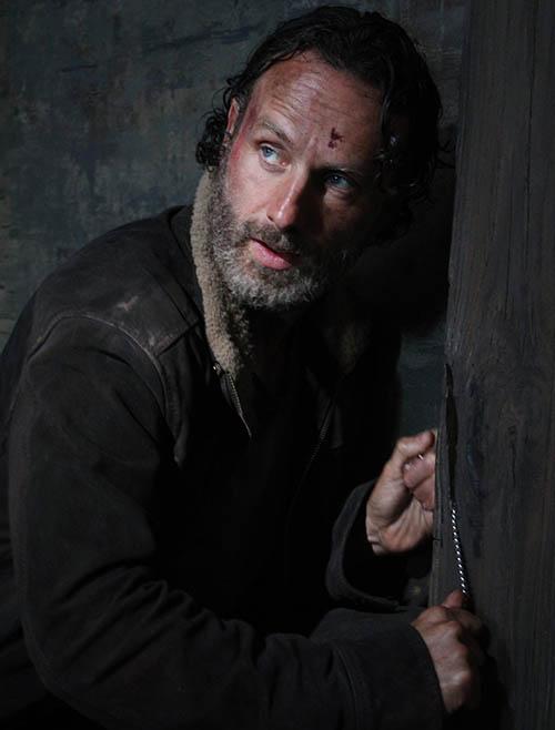 The Walking Dead: Andrew Lincoln nell'episodio No Sanctuary