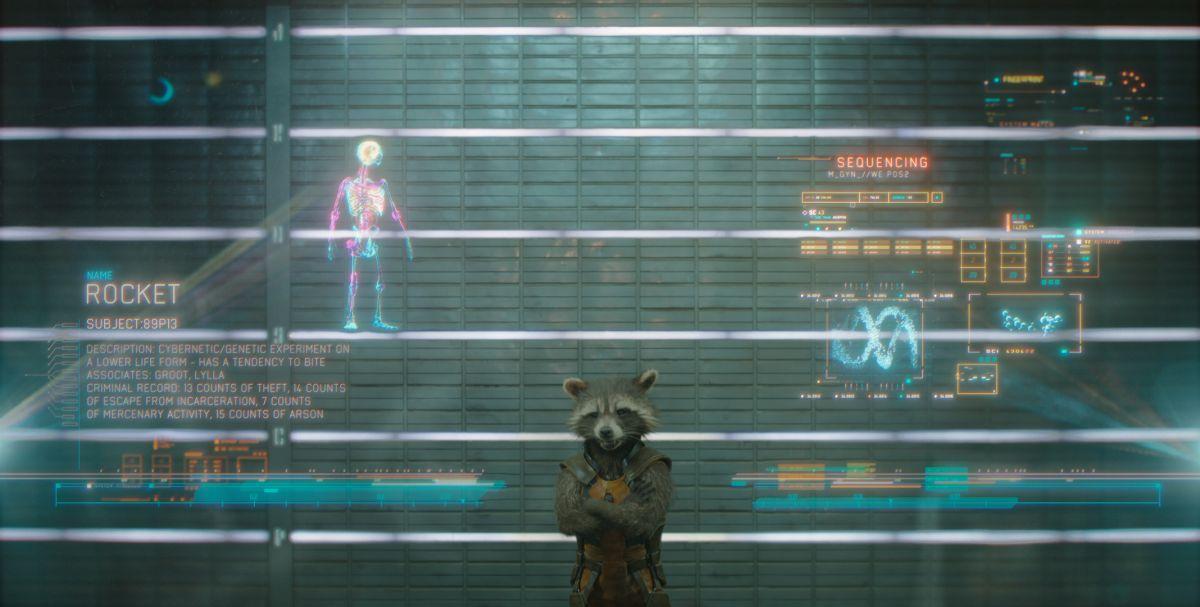 Guardians of the Galaxy: ecco Rocket Racoon