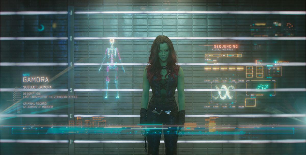 Guardians of the Galaxy: ecco Gamora, alias Zoe Saldana