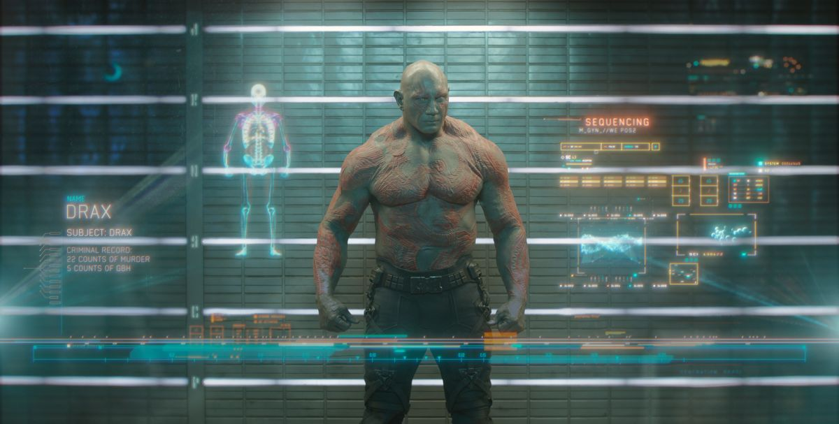 Guardians of the Galaxy: ecco Drax, alias Dave Bautista