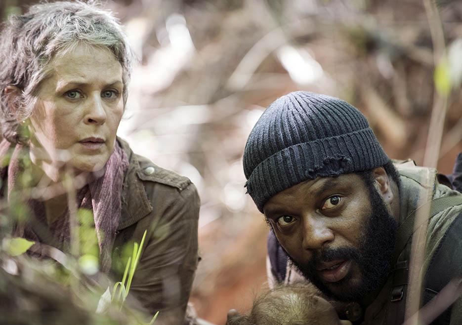 The Walking Dead: Melissa McBride e Chad Coleman nell'episodio No Sanctuary