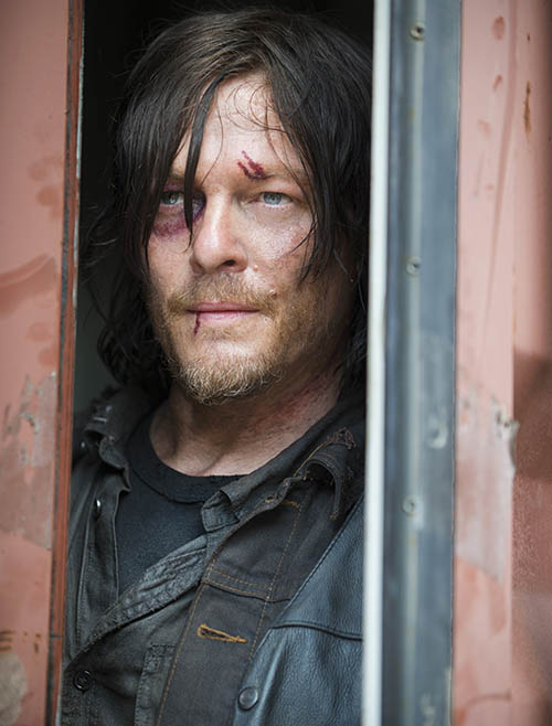 The Walking Dead: Norman Reedus nell'episodio No Sanctuary