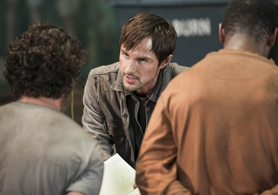 The Walking Dead: Andre J. West nell'episodio No Sanctuary
