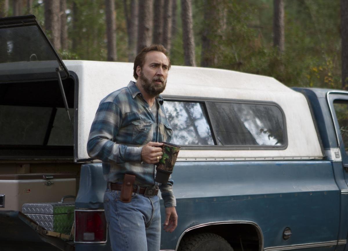 """Nicolas Cage in un'immagine tratta dal film drammatico """"Joe"""""""