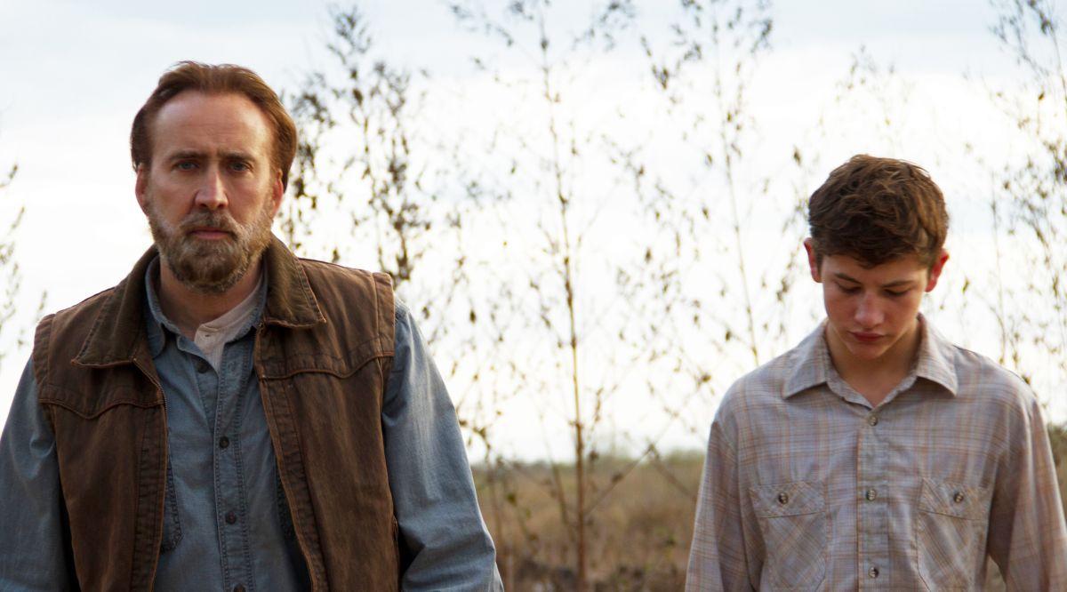 Joe: Nicolas Cage con il giovane Tye Sheridan in una scena tratta dal film