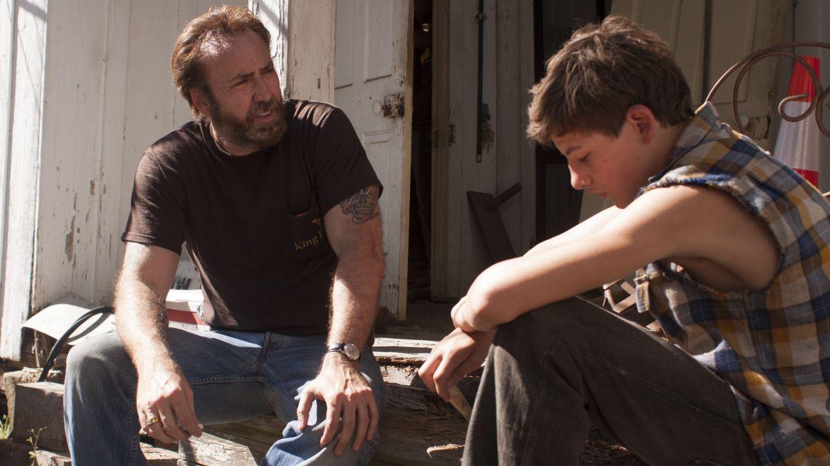 """Nicolas Cage in compagnia di Tye Sheridan in una scena di """"Joe"""""""