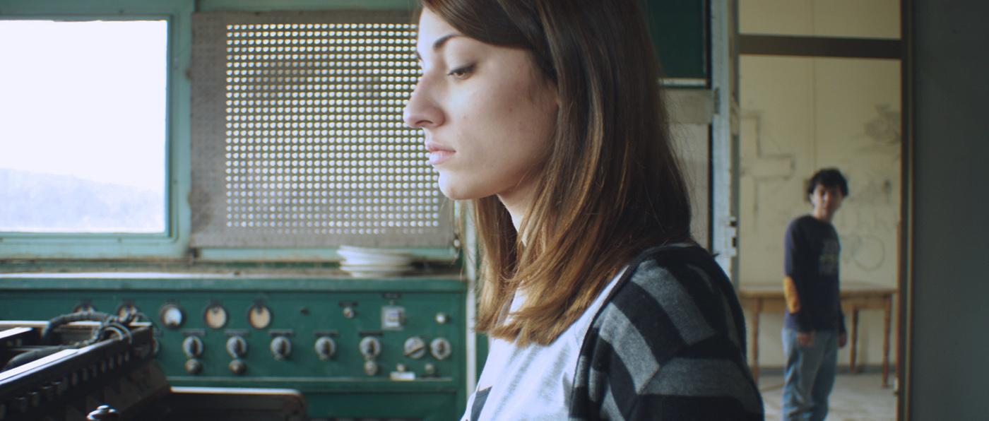Francesca Ferrazzo e Michele Degirolamo in una scena di Amoreodio