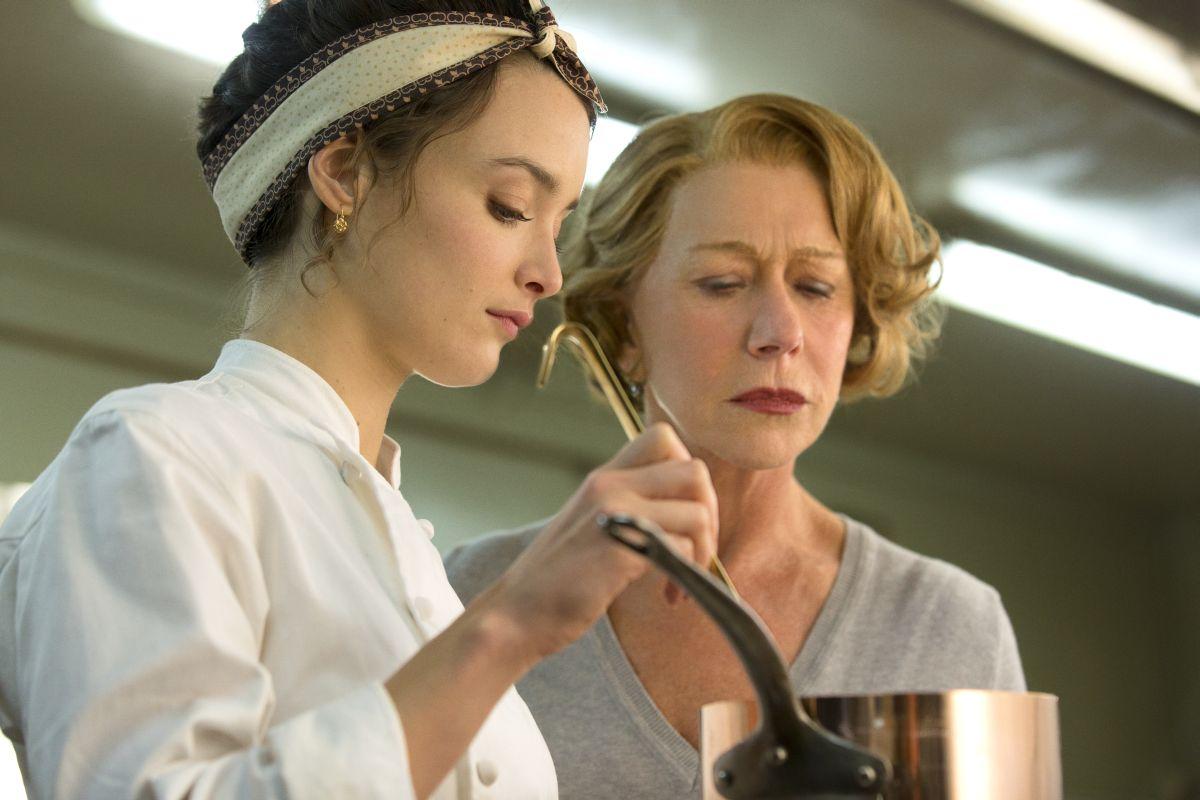 Amore, Cucina e Curry: Helen Mirren con Charlotte Le Bon in una scena