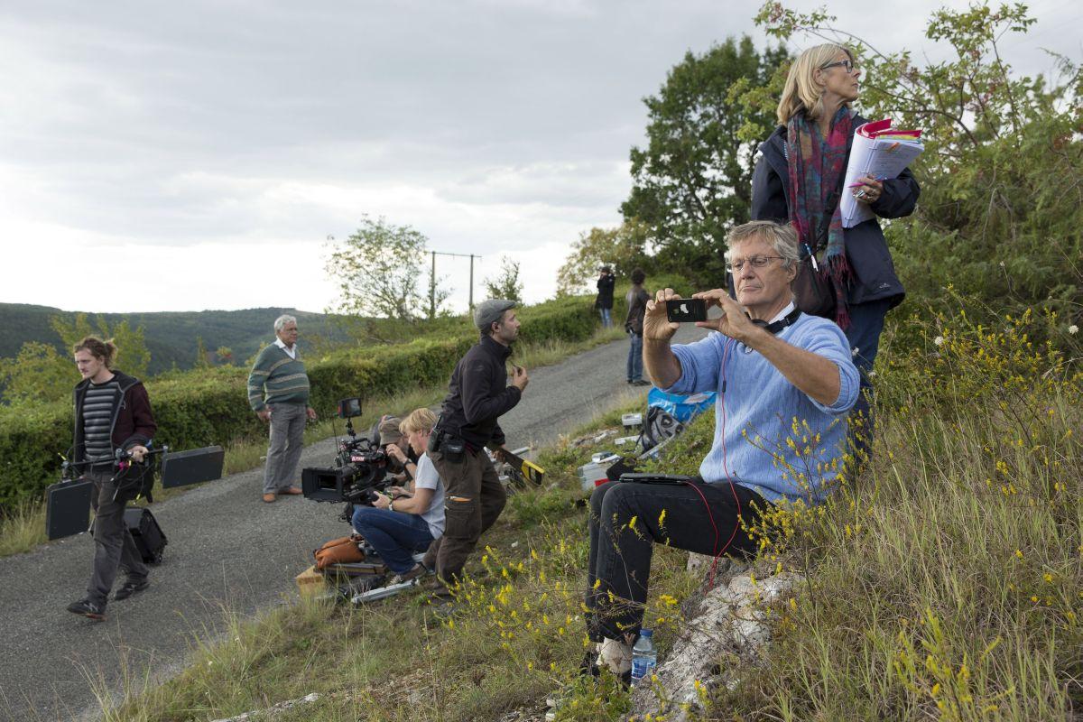 Amore, Cucina e Curry: il regista Lasse Hallström studia il set