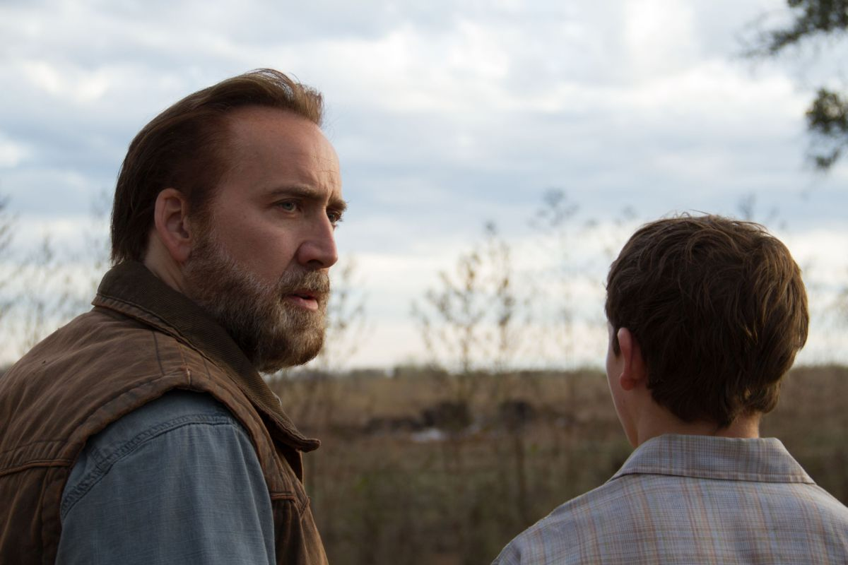 Nicolas Cage insieme a Tye Sheridan in Joe
