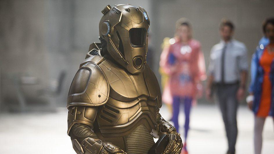 Doctor Who: una scena dell'episodio Time Heist