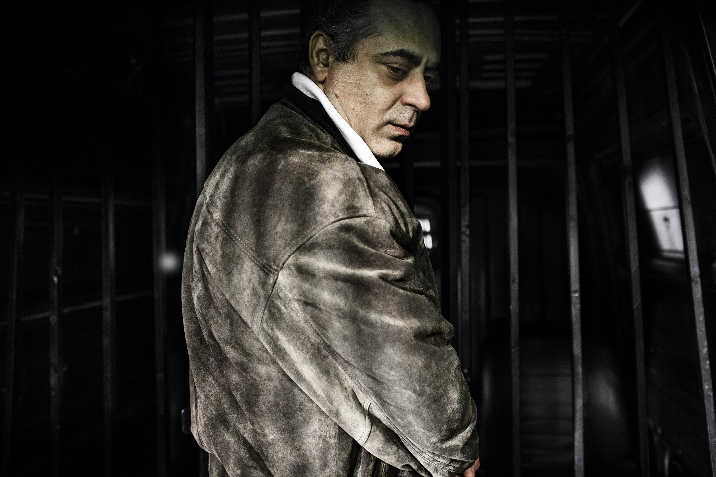La trattativa: Enzo Lombardo in una scena del film di Sabina Guzzanti